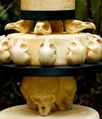 skull wedding cakes animal skull wedding cake neatorama