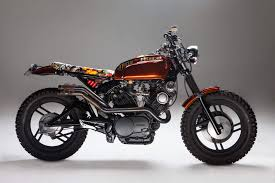 yamaha virago 750 custom scrambler leaves you drooling autoevolution