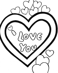 i love you valentine coloring pages valentine coloring pages of