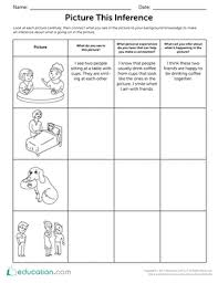picture this inference worksheet education com