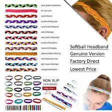 no slip headbands no slip grip non slip sports athletic braided