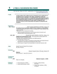 Resume Examples For Students With No Experience by Resume Template For Nurses Nursing Resume Examples Nursing Cv