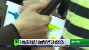 Korea On Map Can Americans Find North Korea On A Map Youtube