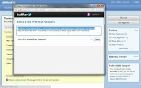 How To Put Resume On Linkedin How To Share A Job Posting On Linkedin And Twitter Youtube