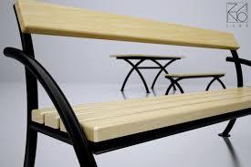 Modern Garden Table Flex Table 13 018 Street And Park Furniture Modern Garden