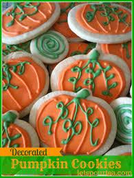 Halloween Pumpkin Sugar Cookies by Halloween Sugar Cookie Decorating Idea U2013 Decoration Image Idea