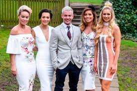 Wedding Dress Cast Nikki Sanderson And Hollyoaks Cast Lead Celebrity Glamour At