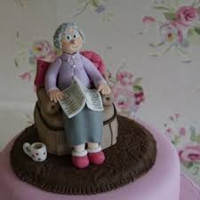 chair cake topper 10 best grandparents images on cold porcelain