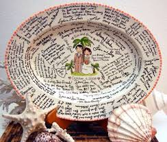 signable wedding platters 57 best wedding guestbook wish table images on