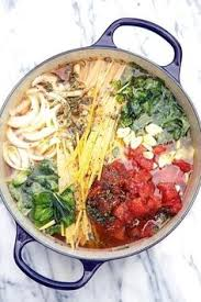 cuisine en pot j one pot pasta six recettes de pâtes tout en un jactiv ouest