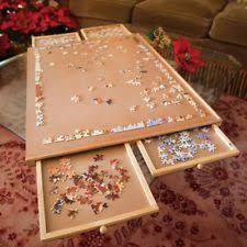 jigsaw puzzle tables portable puzzle table ebay