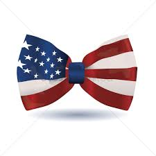 Flags American American Flag Bow Vector Image 1498557 Stockunlimited