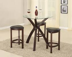 Small Bar Table Roundhill Furniture Solid Oak Wood Table And Chairs Small Kitchen
