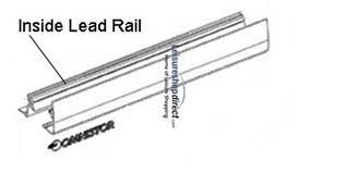 Aluminium Awning Rail Omnistor 5002 Motorhome Awning Spare Parts Leisureshopdirect