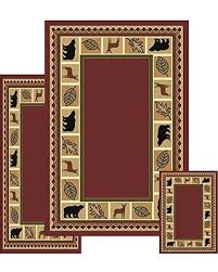 Moose Area Rugs Amazing Deal On Furnishmyplace 3 Wildlife Moose Rustic