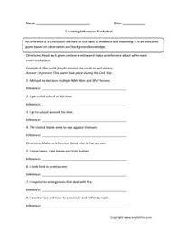 who am i inference worksheets englishlinx com board pinterest