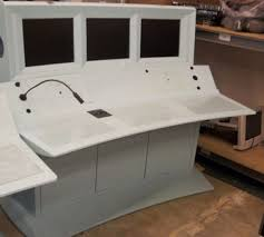 secretary desk for sale craigslist 3 screen mission control gaming desks for sale technabob regarding
