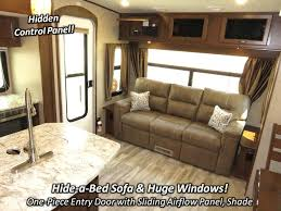 5th Wheel Living Room Up Front by 2017 Highland Ridge Rv Open Range Light 268ts Fifth Wheel