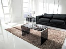 smoked glass coffee table long smoked glass coffee table by glass tables online