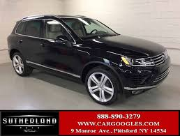 volkswagen touareg 2017 price 2017 used volkswagen touareg v6 executive at sutherland service