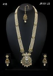 long necklace pearl images Reva pearl long set rs 418 piece reva inc id 17452994655 jpg