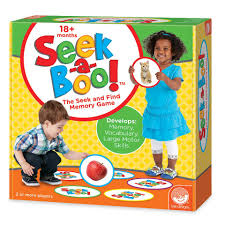 mindware seek a boo memory game toys