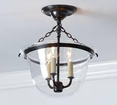 Hurricane Lamp Chandelier Hundi Flushmount Pottery Barn