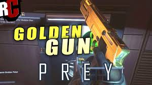 prey golden gun location unique weapon guide youtube