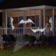 Halloween House Light Show by Lightshow Projection Whirl A Motion Bats Halloween Lighting