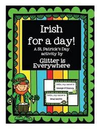 st patrick u0027s day literacy activities for