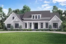 Open Concept Farmhouse Plan Open Concept Farmhouse With Bonus Over Garage 51770hz