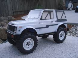 suzuki samurai rock crawler anyone know where i can get a samurai body for mrc rccrawler