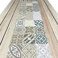 vinyle cuisine sol vinyle imitation carreau de ciment attractive sol pour cuisine