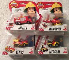 fireman sam mini series selection truck vehicle die cast toys 3