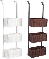 Baskets Bathroom Over The Door Storage Baskets Link Also Includes Site To