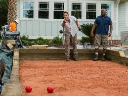 how to build a bocce ball court how tos diy