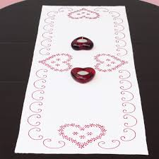 valentines day table runner s day table runner dempsey needle