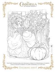cinderella coloring sheets free printables mom mn