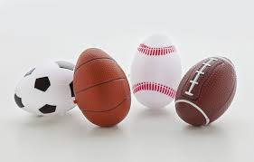 sports easter eggs football easter clipart of a pigskin american football