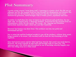 her story necklace images Short story by guy de maupassant guy de maupassant 39 s short jpg