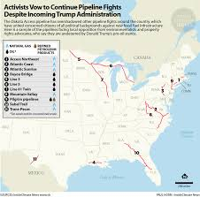 Pipeline Map Of North America by 2017 Pipeline Resistance Gathers Steam From Dakota Access