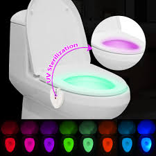 toilet light aliexpress com buy 2017 new 8 colors led toilet night light