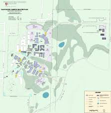 Montana State Campus Map by Campus Master Plans Wsu Facilities Services