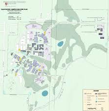Vancouver Washington Map by Campus Master Plans Wsu Facilities Services
