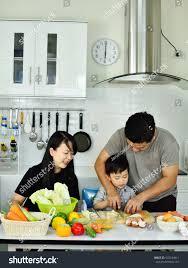 happy family kitchen stock photo 672634411 shutterstock