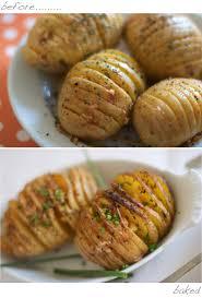 Halloween Diy Ashley U0027s Potato Parmesan Hasselback Baked Potatoes Marla Meridith