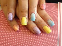 eye candy nails u0026 training acrylic nails with pastel colours and
