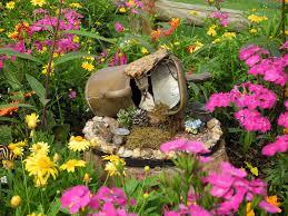 Outdoor Fairy Garden Ideas by Alluring Small Garden Home Design Ideas Complete Mesmerizing