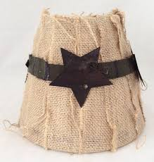 primitive country style lamp shade hand wrapped lamp shade with