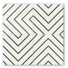 cement tile encaustic cement tile pinstriped diagonal random pattern 8 x8 stock